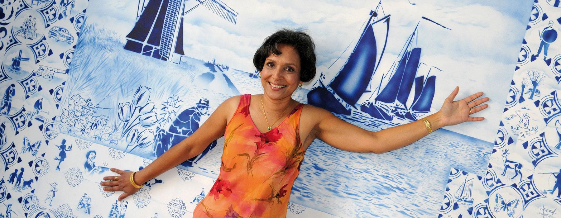 Suriname Carmelita Bodha, boek Tutti frutti, het succes van kleurrijk en ondernemend Nederland
