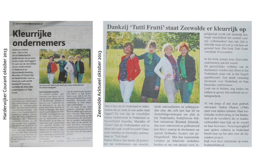 media over boek Tutti frutti, het succes van kleurrijk en ondernemend Nederland